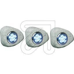 "LED-Set ""Stein"" grau RS306"