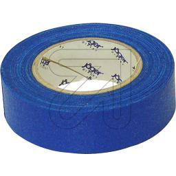 Gewebeisolierband blau L10m/B19mm