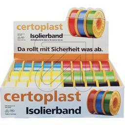 Isolierbandsortiment 30tlg, farbig sort.
