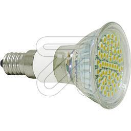 LED Lampe 60-SMD weiss E14  E1460-w